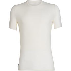 Icebreaker Anatomica Koszulka z krótkim rękawem Mężczyźni, biały